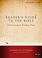 Reader's Guide to the Bible: A…