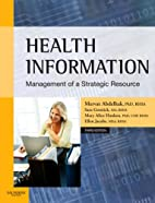 Health Information: Management of a…
