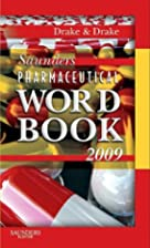 Saunders Pharmaceutical Word Book 2009 by…