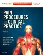 Pain Procedures in Clinical Practice: Expert…
