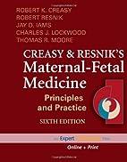 Maternal-Fetal Medicine (Maternal-Fetal…