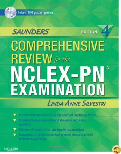 TSaunders Comprehensive Review for the NCLEX-PN® Examination (Saunders Comprehensive Review for Nclex-Pn)