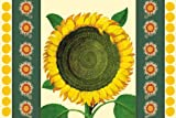 Leslie Evans: Sunflower Tear Off Placemat Pad