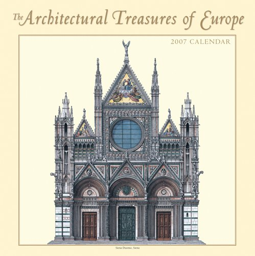 architectural-treasures-of-europe-2007-calendar