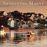 Terrell S Lester: Imagining Maine 2009 Wall Calendar (Calendar)