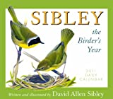 David Allen Sibley: Sibley the Birder's Year 2011 Daily Boxed Calendar (Calendar)