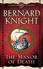 The Manor of Death by Bernard Knight