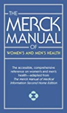 The Merck Manual of Women's and…