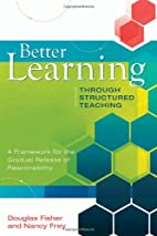 Better Learning Through Structured Teaching:…