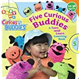 Wax, Wendy: Five Curious Buddies: A Turn-and-Learn Counting Book (Baby Nick, Jr.)