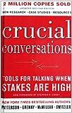 Joseph Grenny: Crucial Conversations (Turtleback School & Library Binding Edition)