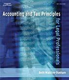 Accounting and Tax Principles for Legal…