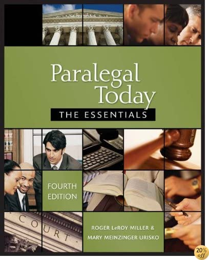 Paralegal Today: The Essentials, 4E