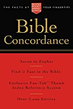 Pocket Bible Concordance: Nelson's…