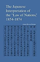 The Japanese Interpretation of the Law of…