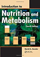 Introduction to Nutrition and Metabolism,…