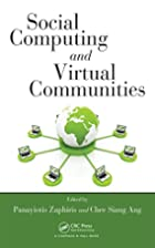 Social Computing and Virtual Communities by…