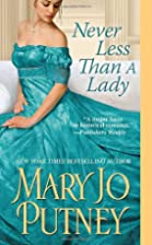 Never Less Than A Lady (Lost Lords) by Mary…