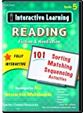 Teacher Created Resources: Interactive Learning: Reading Fiction & Nonfiction (CD): Grade 5