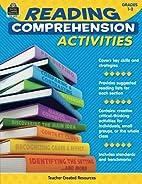 Reading Comprehension Activities Grade 3-4…