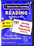 Teacher Created Resources: Interactive Learning: Beginning to Read (CD): Grade K