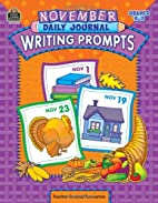 November Daily Journal Writing Prompts by…
