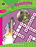 Teacher Created Resources Staff: Fun with Synonyms - Crossword Puzzles and Word Searches (Fun With... (Teacher Created Resources))