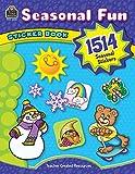 Teacher Created Resources: Seasonal Fun: Sticker Book [With 1514 Seasonal Stickers]