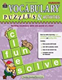 Teacher Created Resources: Vocabulary Puzzles & Activities, Grade 3