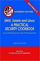 UNIX, Solaris and Linux: A Practical…