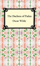 The Duchess of Padua by Oscar Wilde