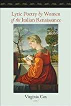 Lyric poetry by women of the Italian…