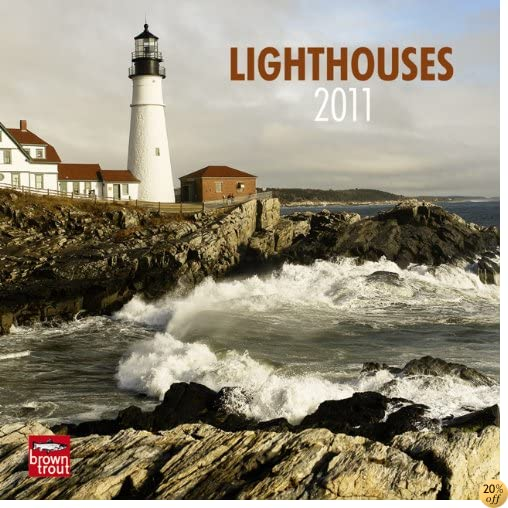 Lighthouses 2011 7X7 Mini Wall
