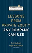 Lessons from Private Equity Any Company Can…
