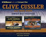 Cussler, Clive: Clive Cussler CD Collection: Golden Buddha and Sacred Stone (Oregon Files Series)