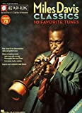 Davis, Miles: Miles Davis Classics Jazz Play-Along Vol.79 Bk/Cd (Hal Leonard Jazz Play-Along)