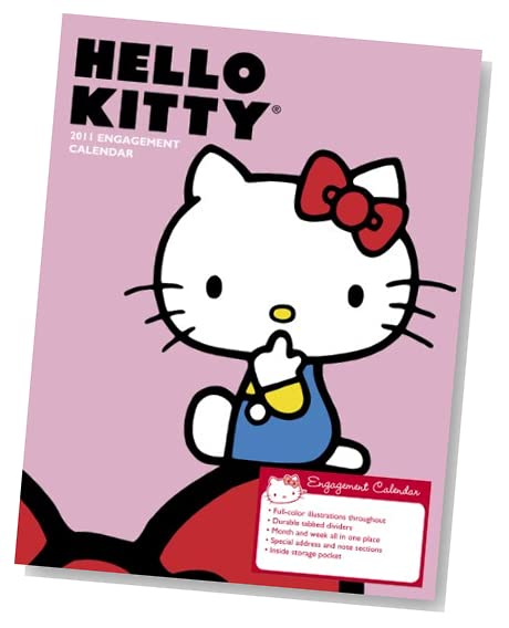 hello kitty 2011 desk calendar