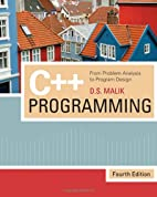 C Programming: From Problem Analysis to…