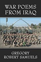 War Poems from Iraq by Gregory Robert…
