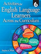 Activities for English Language Learners…