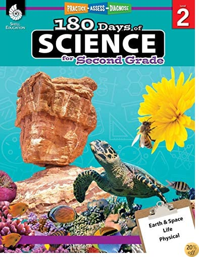 180 Days of Science for Second Grade (180 Days of Practice)