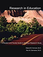 Research in Education: A Student and Faculty…