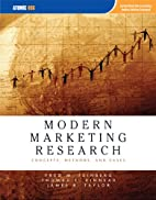 Modern Marketing Research: Concepts,…