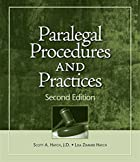 Paralegal Procedures and Practices by Scott…