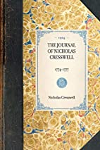 The journal of Nicholas Cresswell, 1774-1777…