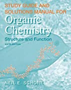 Study Guide/Solutions Manual for Organic…
