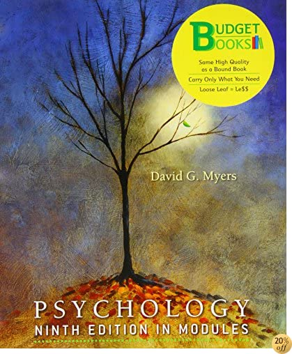 Psychology, Ninth Edition, In Modules (Loose Leaf)