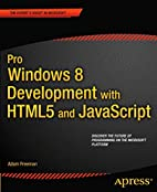 Pro Windows 8 Development with HTML5 and…