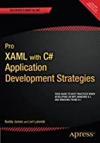 Pro XAML with C#: From Design to Deployment…