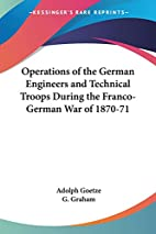 Operations of the German Engineers and…